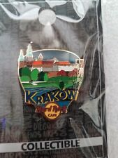 Hard Rock Cafe Pin KRAKOW Greetings From Series