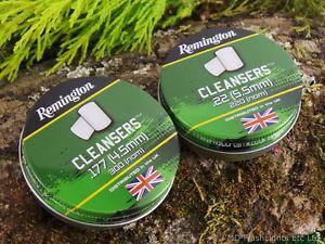 REMINGTON REM CLEANSERS PELLETS .177 & .22 AIR RIFLE BORE CLEANING PELLETS