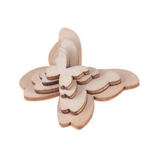 50 Pcs Butterfly Shape Wooden Laser Cut for Craft Arts Embellishment Card Making