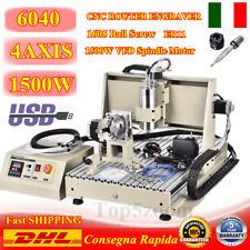 CNC6040 USB! 4-ASSI Engraver 3D Router Meccaniche per incidere Fresa Fresatrice