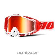 100 % Prozent Racecraft verspiegelt BILAL MX Motocross Cross Brille MTB 2018