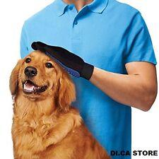 Guanto Spazzola Cardatore True Touch Elimina Peli massaggiante per cani e gatti