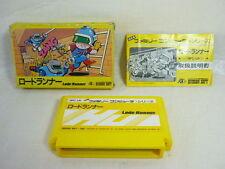 LODE RUNNER Item REF/ccc Famicom Nintendo Hudson Japan Boxed Video Game fc