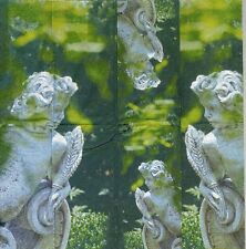 3 Mouchoirs papier Statue Ange Gardien Decoupage Paper Hankies Angel Serviette