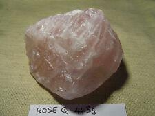 Large 443g Natural rough Rose Quartz Crystal Cluster Specimen