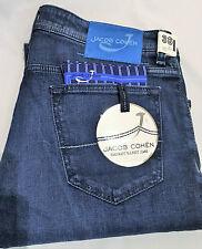 """Jacob Cohen Size 38"""" waist 36"""" leg  Mens Blue Jeans PW625 Comf Vintage RRP £329"""