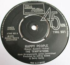 TEMPTATIONS JUST MY IMAGINATION + HAPPY PEOPLE 2 TAMLA  MOTOWN  SINGLES 1970's