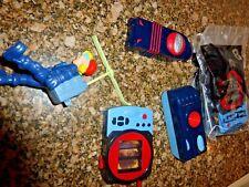 Mcdonalds Spy Kids Spy Camera Toy #7, 3 FOOGLIE IDENTIFIER, PHONE, ACTION FIGURE