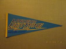 CBA Lancaster Lightning Vintage Defunct Circa 1982 CBA Champs Basketball Pennant
