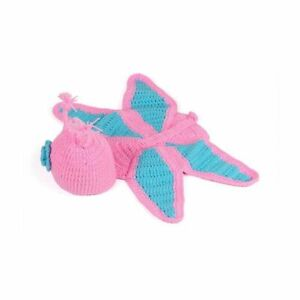 Newborn Baby Knitted Woollen Hooded Butterfly Photography Photo Prop/Outfit