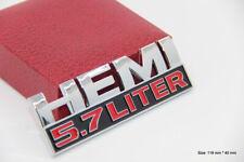 B149 HEMI 5.7 Liter auto aufkleber 3D Emblem Badge Abzeichen Sticker car