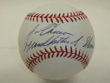 JOSE CANSECO GODFATHER OF STEROIDS JSA CERTIFIED AUTHENTIC SIGNED MLB BASEBALL