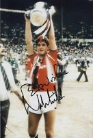 Norman Whiteside Hand Signed 12x8 Photo - Manchester United Autograph.