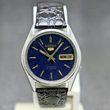 Vintage Seiko 5 Automatic Movement 7019-6081 Japan Made Men's Watch.