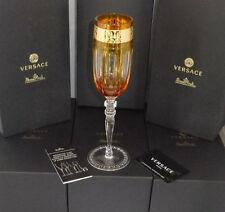 Rosenthal Versace Prestige Gala 6 x Champagne Glasses 24 cm NEW & OVP 0,18 L.