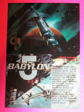 1995 ULTRA BABYLON 5 - SPACE GALLERY CARDS - PICK ONE