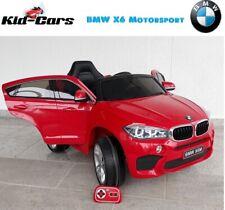 Kinderfahrzeug BMW X6M 2x 45W Motor Elektroauto Kinderauto elektrisch X6 in rot