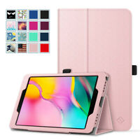 """For Samsung Galaxy Tab A 8.0"""" 2019 SM-T290/T295 Folio Case Stand Cover Holder"""