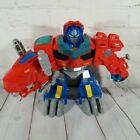Transformers Rescue Bots Optimus Primal T-Rex Prime Not Working A7438 Playskool