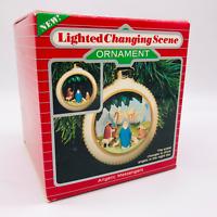 Angelic Messengers Magic Series Hallmark NEW Lighted Christian Nativity Bible