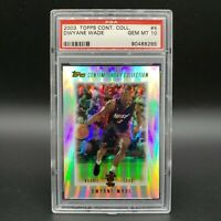 PSA 10 *Pop 3* 2003 DWYANE WADE Rookie RC Topps Contemporary Collection #4
