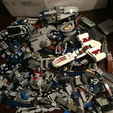 LEGO 4+ POUND BOX MIXED LOT includes STAR WARS PARTS/PIECES BRICKS BUILDING TOY
