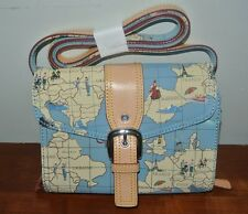 SIGNATURE COLLECTION BY SHARIF MAP OF EUROPE HANDBAG_PURSE ORIG. $75.00
