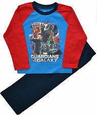 Pijamas y batas azul de 100% algodón para niño de 2 a 16 años