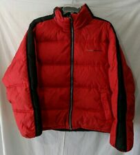 Ford Racing Reversible Down Feather Jacket 2XL Red And Black