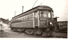 5B803 RP 1957 BC ELECTRIC RAILROAD TRAIN CAR #1202 AT VANCOUVER