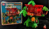 Vintage 1976 Hasbro Weebles Tarzan Jungle Hut Of Mars Edgar Rice Burroughs w BOX
