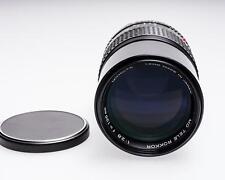 Minolta MD Tele-Rokkor 135mm f2.8 in very good condition