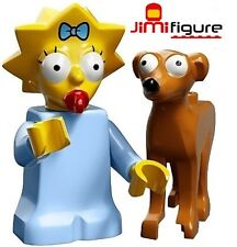 NEW LEGO Minifigures Maggie Santa's Little Helper Simpsons Series 2 71009 Figure