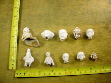10 x excavated vintage damaged doll parts Germany age 1890 mixed media Art B 333