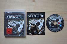 Ps3-Medal of Honor: Airborne - (OVP, con instrucciones)