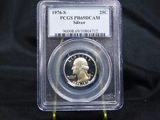1976-S Washington Quarter - Silver - PCGS PR69 DCAM