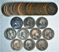 (39) Different between 1860's & 1960's Great Britain Penny Collection #1