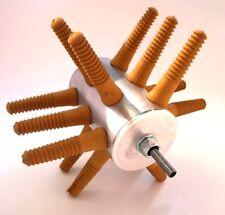 Rupfmaschine 15 Finger mit Halter (43mm), Geflügelrupfmaschine, aluminium