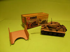 CORGI TOYS 900 - PZKPFW TIGER MK.1  ARMY  - RARE SELTEN - GOOD CONDITION IN BOX