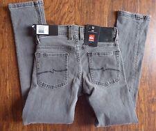 Quiksilver Big Boys Distortion Slim Pant Jeans Grey 22 NEW