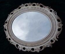 Cadre d'image ancien Argent ovale Rokoko Cadre Photo 58x68 Cadre avec verre