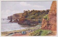 Devon postcard - The Bathing Beach, Dawlish - ARQ No. 1782 - P/U