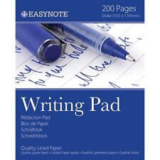 100 Sheet 200 Pages Duke Writing Note Pad Quality Lined Ruled Paper 135 x 170mm
