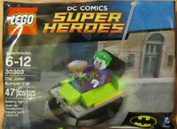 LEGO DC Comics Super Heroes The Joker Bumper Car 30303 lot of 2 New