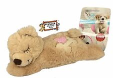 Comforter Puppy Dog Cat Kitten Calming Toy Warm Bear Plush Teddy Whelping