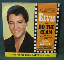 Elvis Presley Do The Clam 45 W/ ASK FOR Sleeve Germany RARE