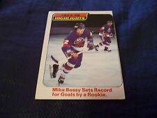 1978-79 OPC O-Pee-Chee #1 Mike Bossy Rookie Highlights New York Islanders - ex