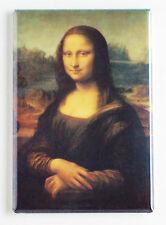 Mona Lisa FRIDGE MAGNET (2 x 3 inches) Leonardo da Vinci poster print painting