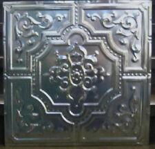 """New Original Antique Design #3 Metal Ceiling Panel 24"""" X 24"""" 30 Ga.Steel $14."""