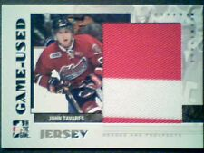 JOHN TAVARES  07/08 AUTHENTIC 2-COLOR PIECE OF A GAME-USED JERSEY /130